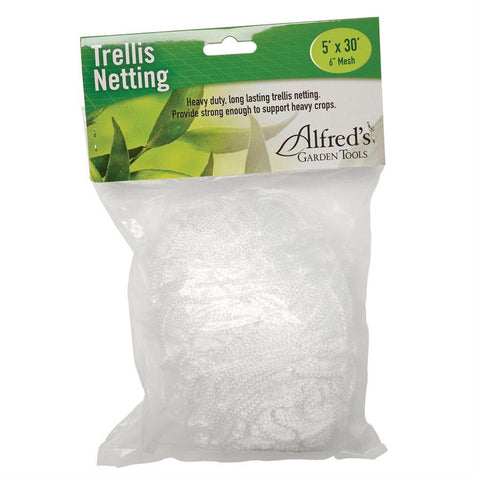 "Alfred Horticulture Trellis Netting 5' x 30' x 6"" Squares"