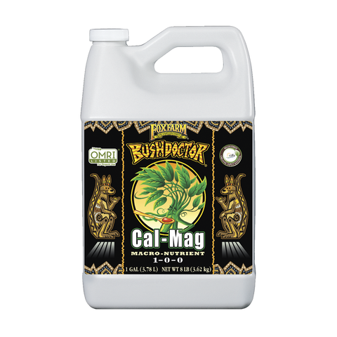 FoxFarm Nutrient / Additive Bushdoctor Cal-Mag  1 Gallon Bottle