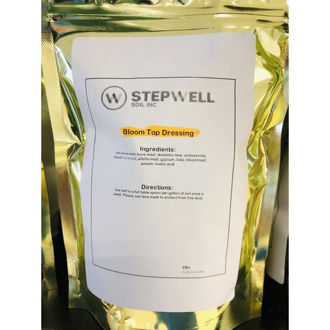 Stepwell Nutrient Top Dressing Bloom 35lb