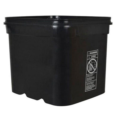 NoName Bucket Black Square  8 Gallon