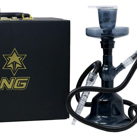 "Nice Glass Hookah Set TD-1 13"" Tall Full Color Choice of Colors"
