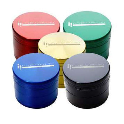 Infyniti Grinder Aluminum 4-Piece 63mm Choice of Colors GR1063AS4