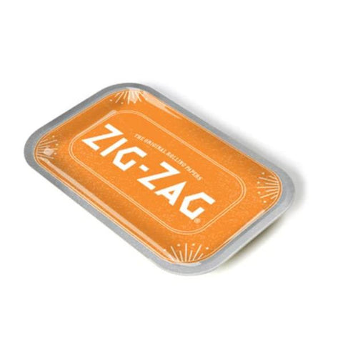 Zig Zag Rolling Tray Orange Mini 5.5x7""