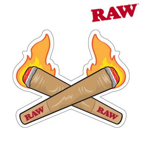 RAW Sticker Fire Cones 200/pack