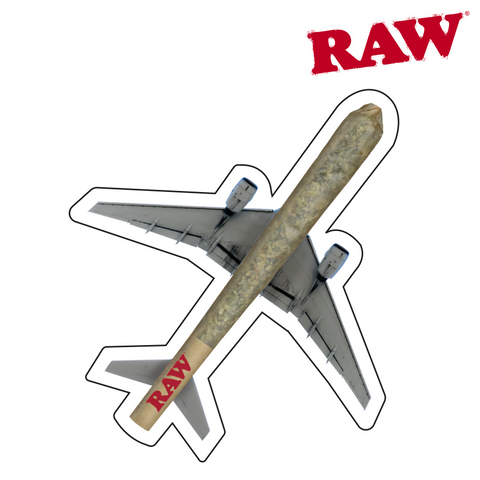 RAW Sticker Plane 200/pack