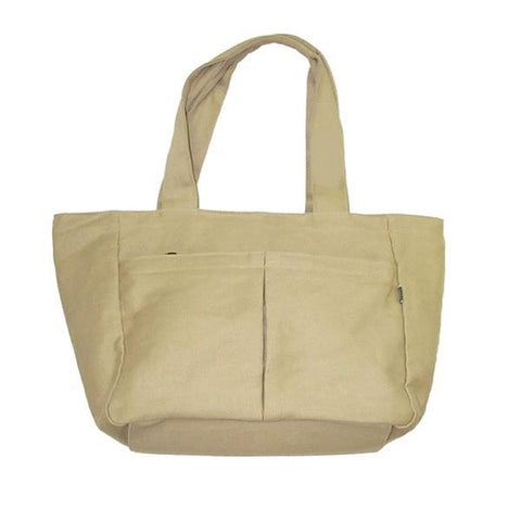 Effort's Eco-Essentials Zip Hand Bag 55% Hemp / 45% Cotton-Twill Choice of Colors