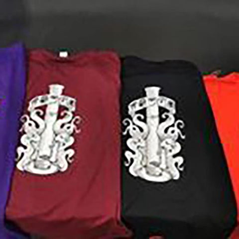 Yougo Boro T-Shirt Limited Edition Violet Choice of Sizes M-XXXL