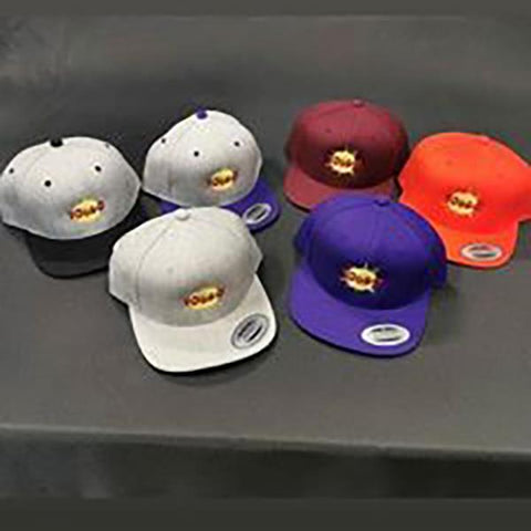 Yougo Boro Hat / Cap Snapback Logo Front Assorted Color Options