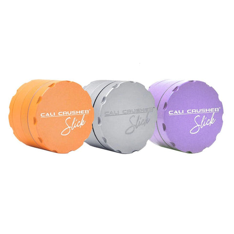 "Cali Crusher OG Slick Series 4-piece 2"" Diameter Grinder Choice of Colors"