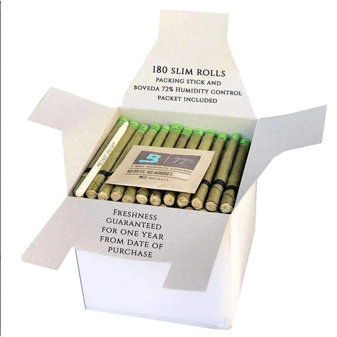 King Palm Wraps Slim Bulk Box 180/pack