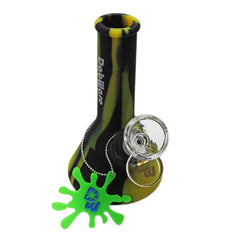 "DabWare Platinum Silicone Bong Beaker 5"" Tall Mini Choice of Colors DAB009"
