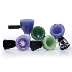 Preemo Glass Bowl Double Wall Fumed 14mm P072 Choice of Colors