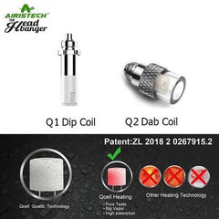 Airistech HeadBanger Replacement Q2 Dab Coil Part 5/pack