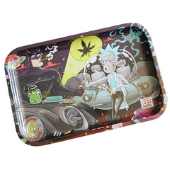 "Dunkees Rolling Tray Smoke Signals 13"" x 9"""