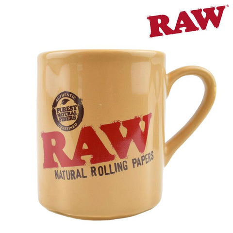 "RAW Coffee Mug ""Natural Rolling Papers"""
