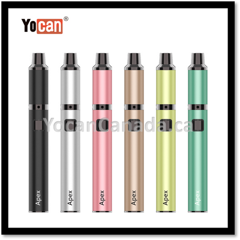 Yocan Apex Concentrate Vape Pen Dual Quartz Coil Choice of Colors