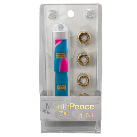 MouthPeace Mini Filter Starter Set 2/pk w/ 6 Replacement Filters