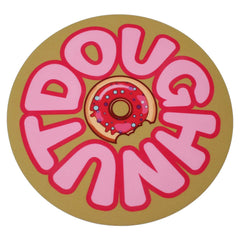 "NoName Doughnut 8"" Diameter Round Silicone Rubber-Backed Dab Mat"