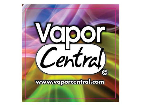 Vapor Central Logo Sticker - 3x3 Square Full Color NEW