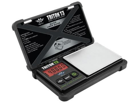 MyWeigh Triton T3 Ruggedized Precision Pocket Scale - 400g x 0.01g
