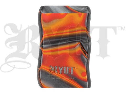 RYOT Dugout - Acrylic - Magnetic Lid - Poker and Bat Included - Short/Small - Red/Pearl