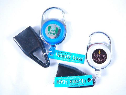 Lighter Leash with THC and Vapor Central Logos