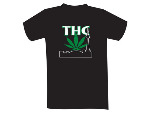 THC Logo T-shirt - Ladies V-Neck