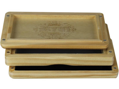 "RYOT Shaker / Sifter / Storage Box 3x5"" Solid Top Natural Finish"