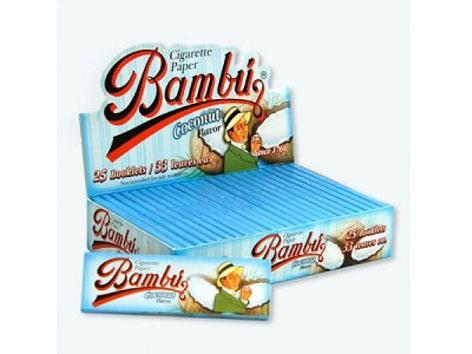 Bambu Flavoured Coconut 1-1/4 Size 33pk 25box
