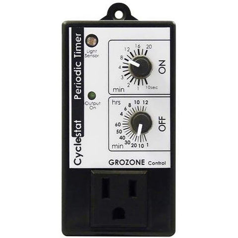 Grozone CY1 Cycle Timer / Cyclestat with Photocell Day / Night Sensor