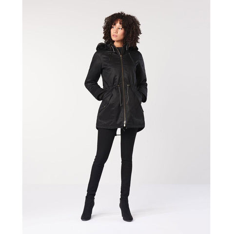Hemp Hoodlamb Jacket - Ladies Parka - Choices of Sizes and Colors
