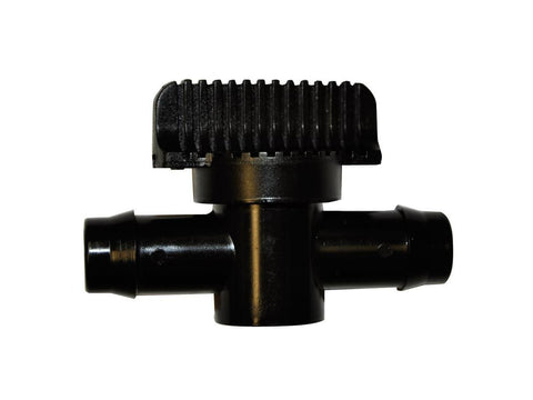 NoName Water Pump / Hose Accessory - Black Tap Ball Valve Petcock 3/4""