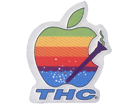 Cycle Stickers Sticker - Apple Pipe