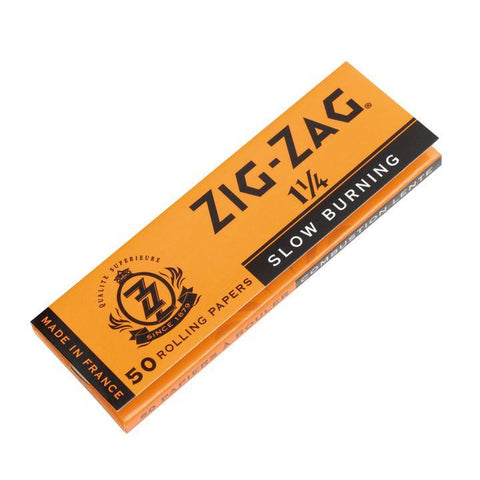 Zig Zag Rolling Papers - 1-1/4 Size Orange 32/pack