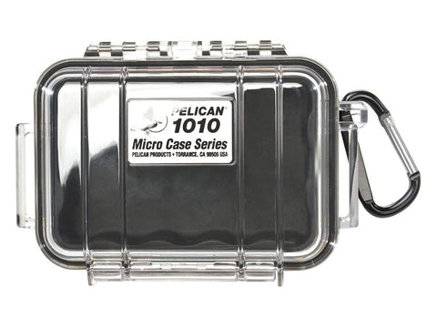 Pelican Protector Case Micro 1010 Clear Top - Choice of Colors