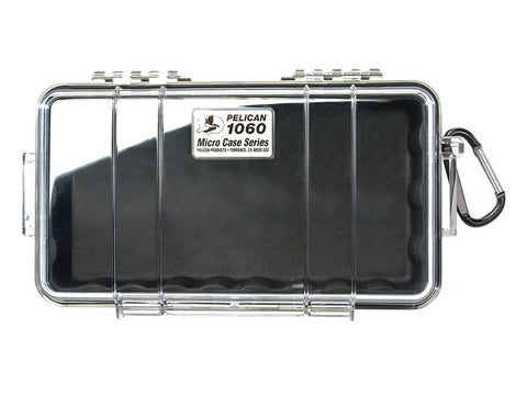 Pelican Protector Case Micro 1060 Clear Top - Choice of Colors