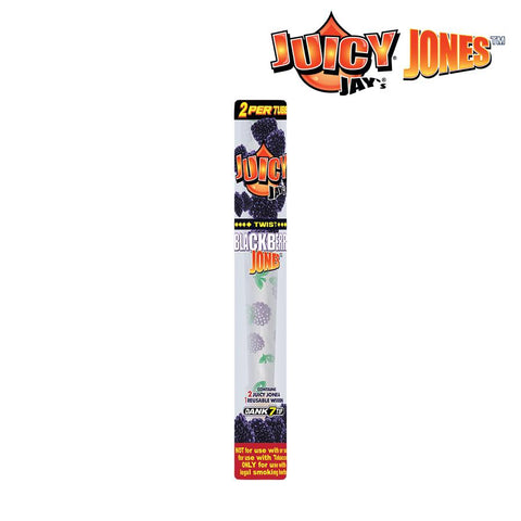 Juicy Jays Blackberry Jones Pre-Rolled Cone 2pk w/ Dank 7 Tip 24box