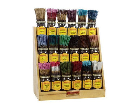 WildBerry Incense Sticks Regular Size - 100/pack Assorted Mix-And-Match