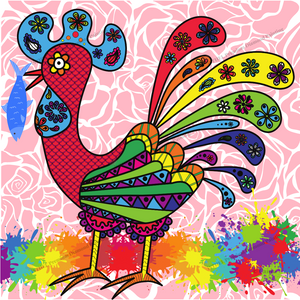 Sarimanok - Diamond Painting Kit with 2 AB