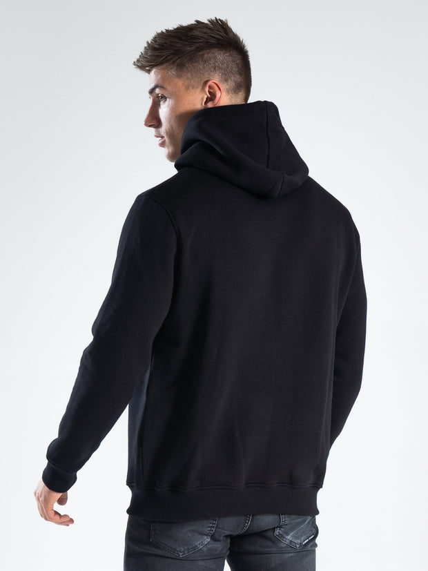 Black Box Embroidered Hoodie