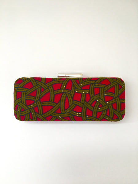 Red Glam Clutch