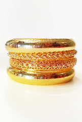 18k gold plated bangles