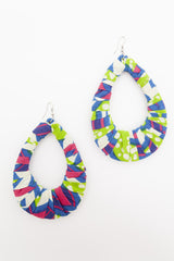 Multicolor Loop Earrings