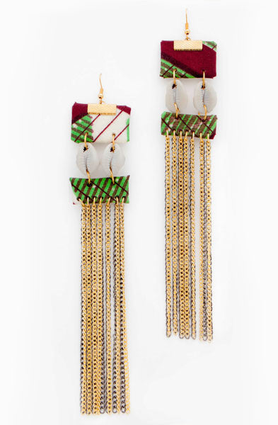 Long Fringes Earrings