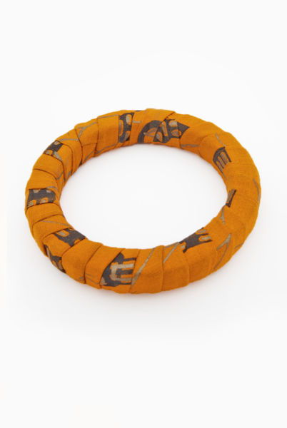 Orange Thin Bangle