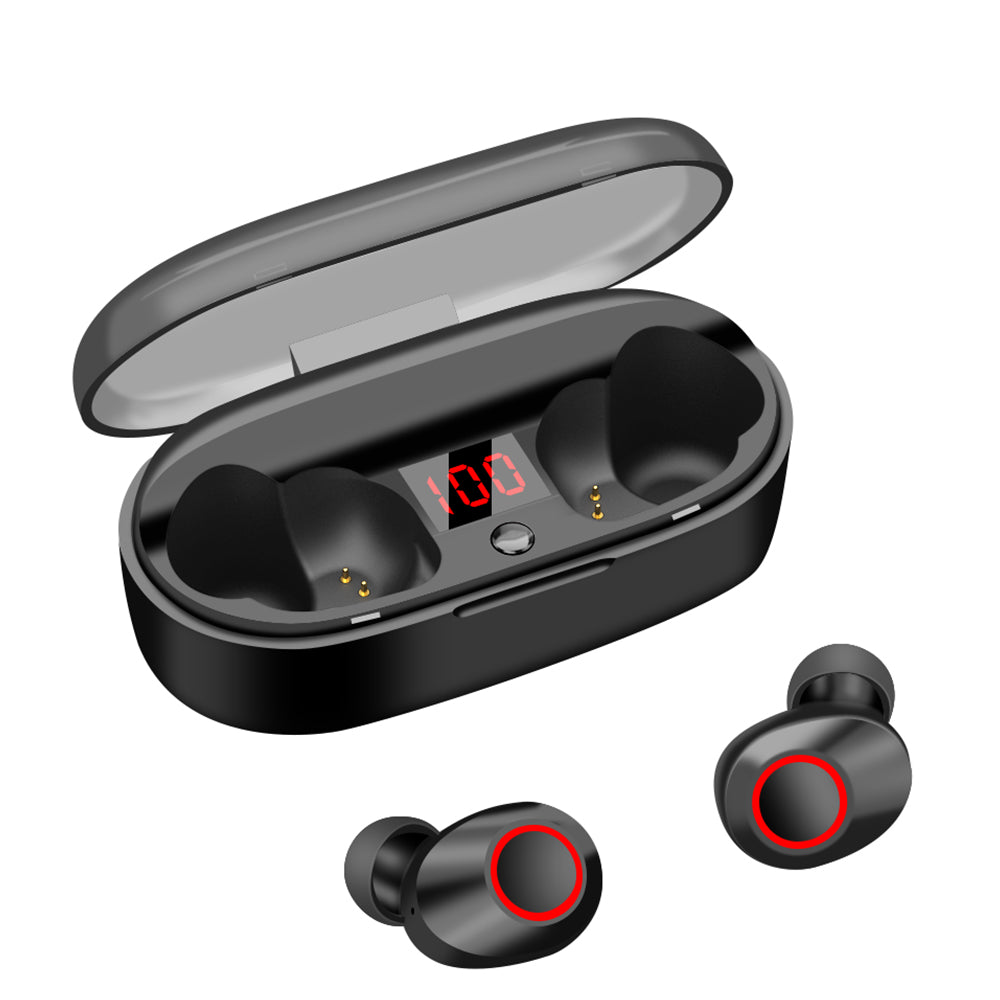 True Wireless Earbuds, 20H Playtime, Bluetooth Headphones 5.0 Mini Stereo Headset
