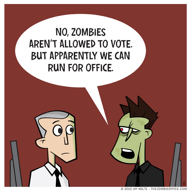 The Zombie Office by Jay Nolte