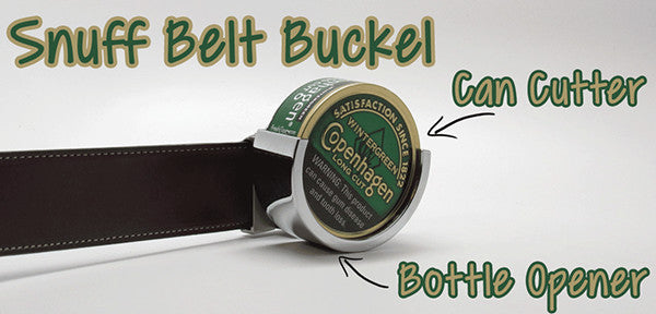 Snuff Belt Buckle