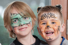 kids face painting with Pure Poppet