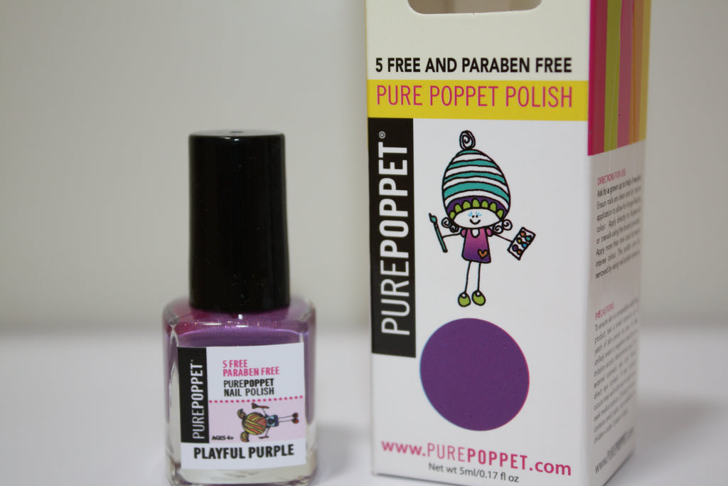 5 Free and Paraben Free Nail Polish